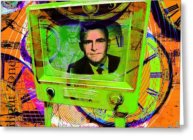 Vertigo Greeting Cards - Twilight Zone 20150905 Square p28 Greeting Card by Wingsdomain Art and Photography