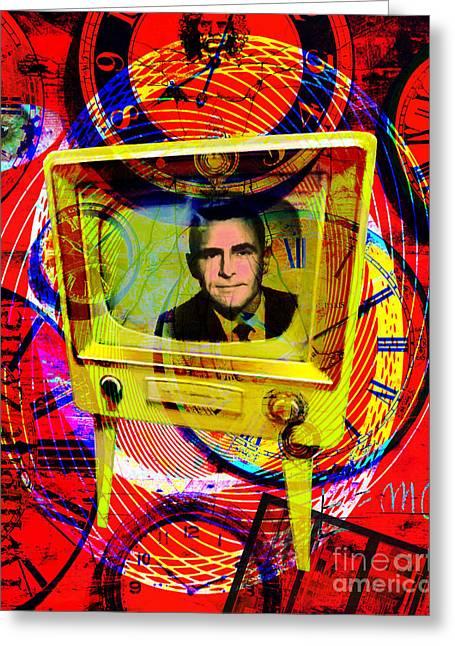 Vertigo Greeting Cards - Twilight Zone 20150905 Greeting Card by Wingsdomain Art and Photography