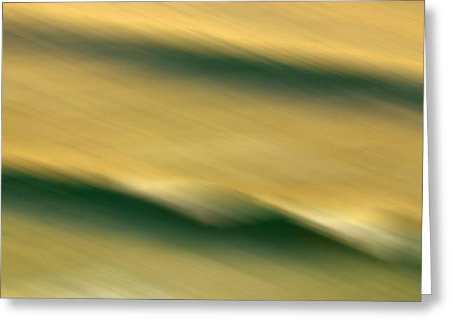 Blur Photography Greeting Cards - Twisted Greeting Card by Az Jackson