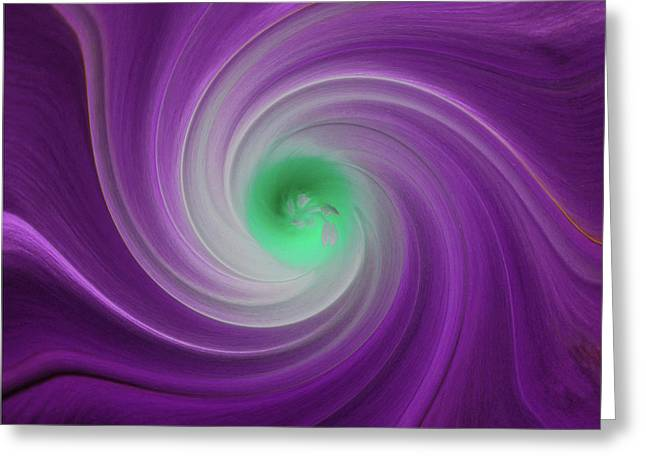 Twisted Glory 3 Greeting Card by Michael Peychich