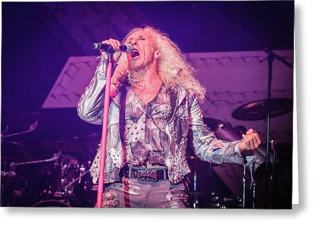 Twisted Sister, Dee Snider Greeting Card by Vedran Levi