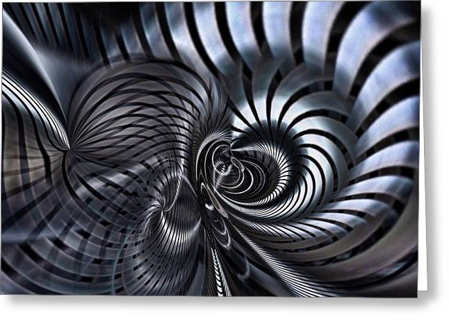 Twists And Turns  Greeting Card by Philip Openshaw