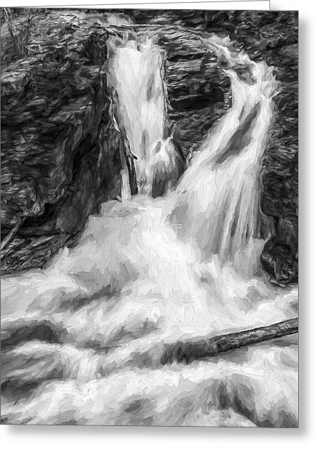Two Into One II Greeting Card by Jon Glaser