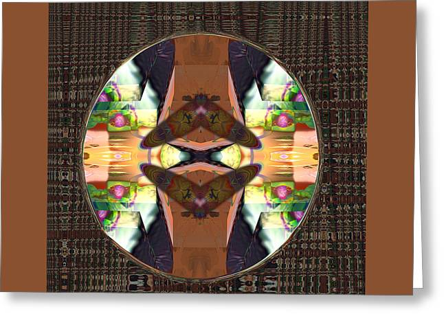 Visionary Artist Greeting Cards - Two Moths Greeting Card by Bob  Eige