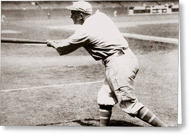 Ty Cobb Greeting Card by American School
