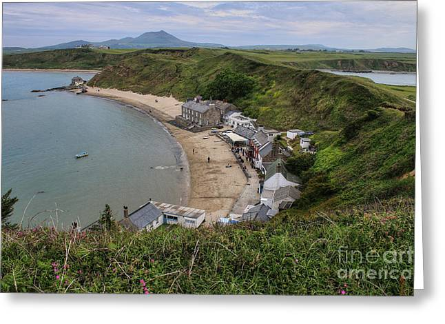 Chris Evans Greeting Cards - Ty Coch Porthdinllaen Greeting Card by Chris Evans