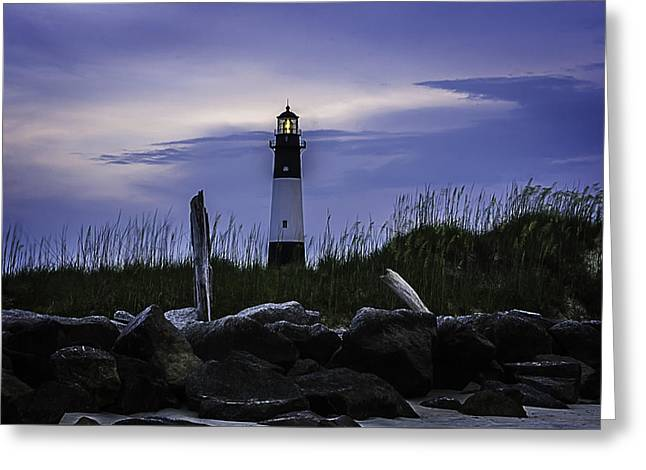 Nature Greeting Cards - Tybee Light Beautiful Sight Greeting Card by Jamie Anderson
