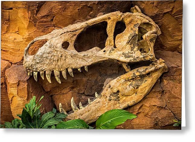 Jurassica Greeting Card by Wim Lanclus