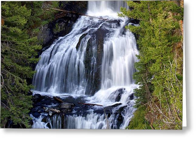 Udine Falls Greeting Card by Marty Koch