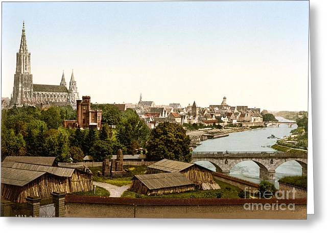 Ulm Greeting Cards - Ulm Greeting Card by Celestial Images