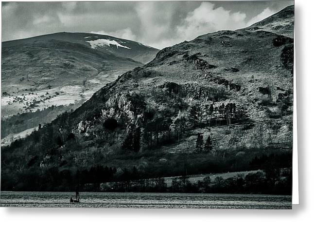 Ulswater Lake District Greeting Card by David French