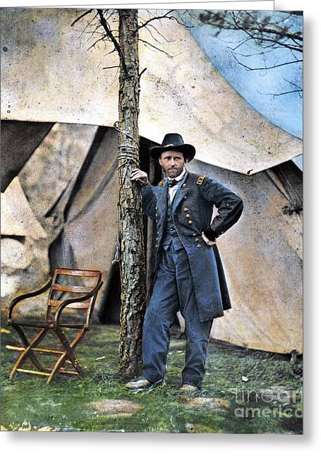Southeastern Greeting Cards - Ulysses S. Grant Greeting Card by Granger