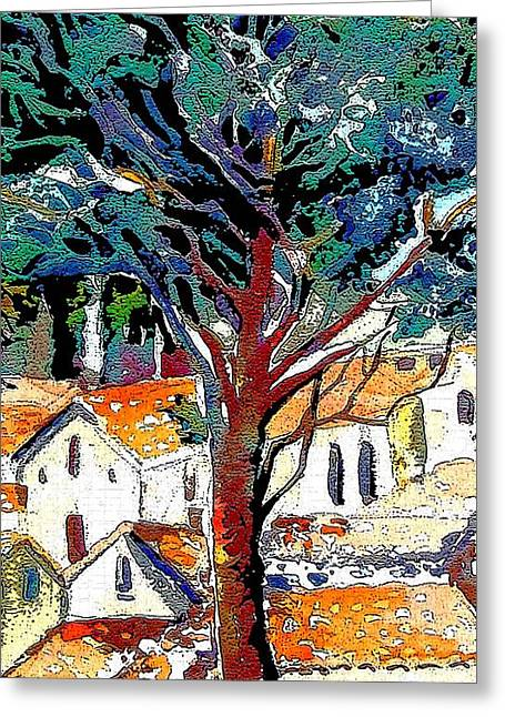 Umbria Greeting Cards - Umbria Greeting Card by Mindy Newman