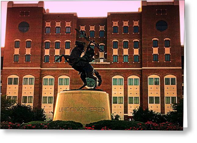 Unconquered Greeting Card by Paul  Wilford