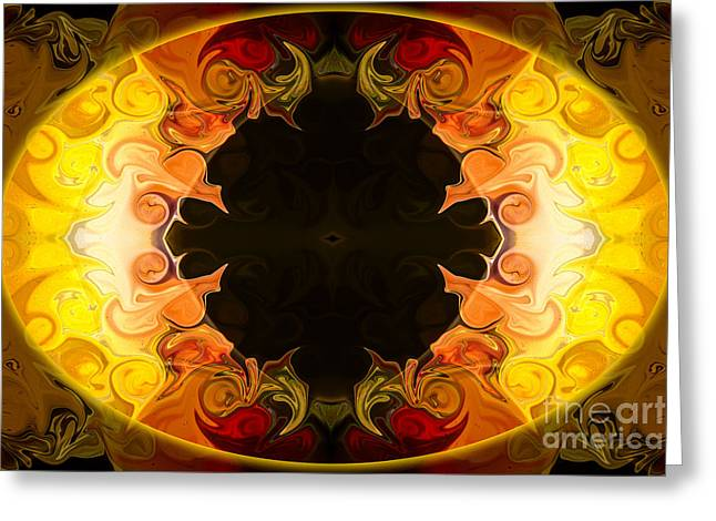 Undecided Greeting Cards - Undecided Bliss Abstract Healing Artwork by Omaste Witkowski Greeting Card by Omaste Witkowski