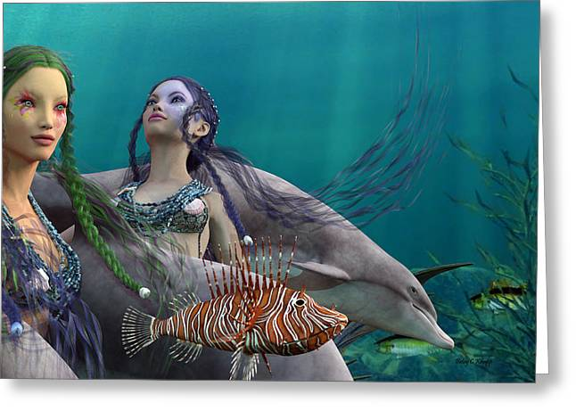 Under The Sea  Greeting Card by Betsy Knapp