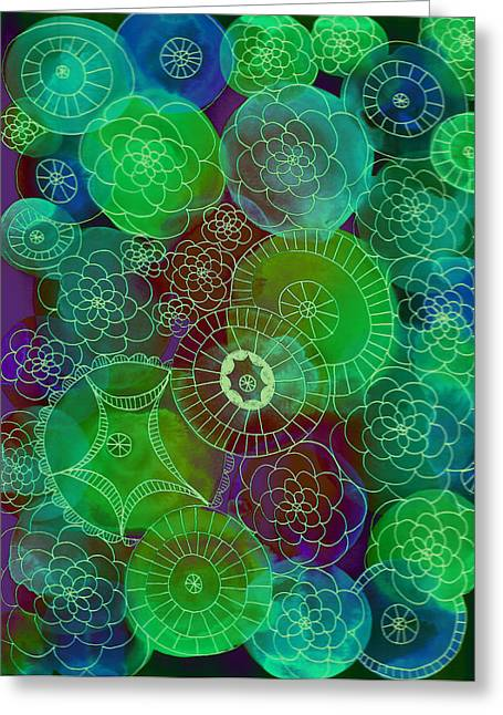 Lisa Noneman Greeting Cards - Under The Sea Greeting Card by Lisa Noneman