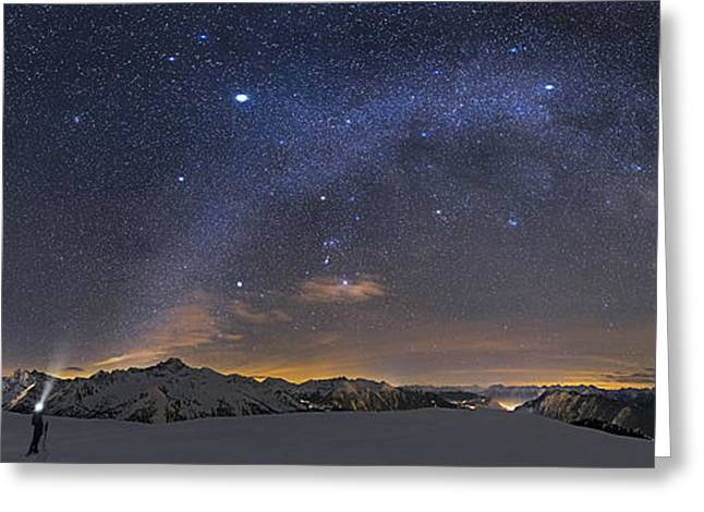 Under The Starbow Greeting Card by Dr. Nicholas Roemmelt