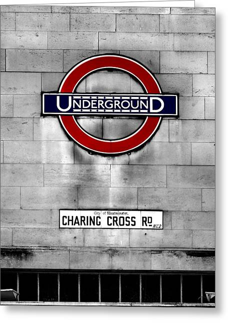 Underground Greeting Card by Mark Rogan