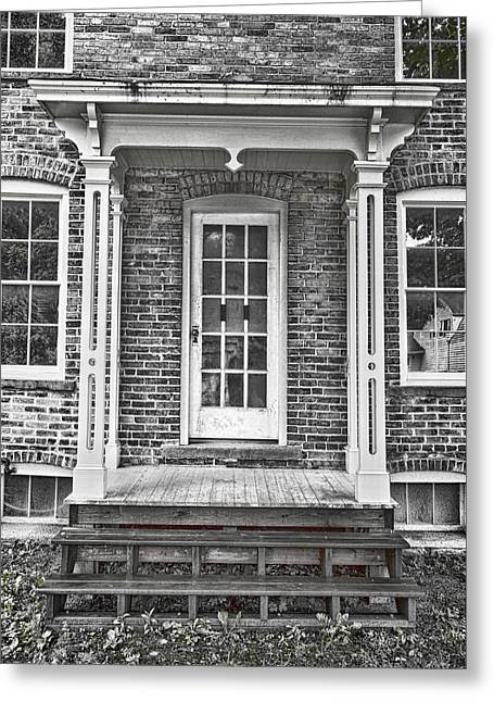 Underground Railroad - Tubman House Greeting Card by Stephen Stookey