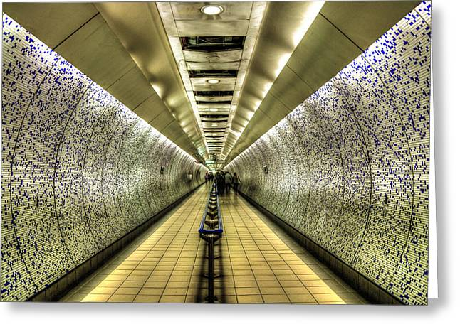 Under Ground Greeting Cards - Underground Greeting Card by Svetlana Sewell