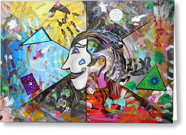 Normal Paintings Greeting Cards - Understanding Dali Greeting Card by Michael Braun