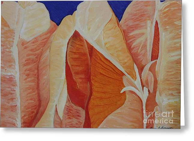 Tangy Paintings Greeting Cards - Understanding Your Inner Orange Greeting Card by Terri Thompson