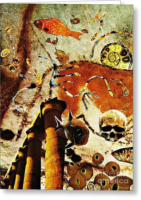 Underworld Greeting Card by Sarah Loft