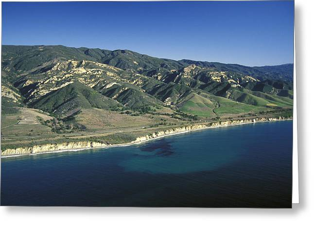 Gaviota Greeting Cards - Undeveloped Southern California Greeting Card by Rich Reid