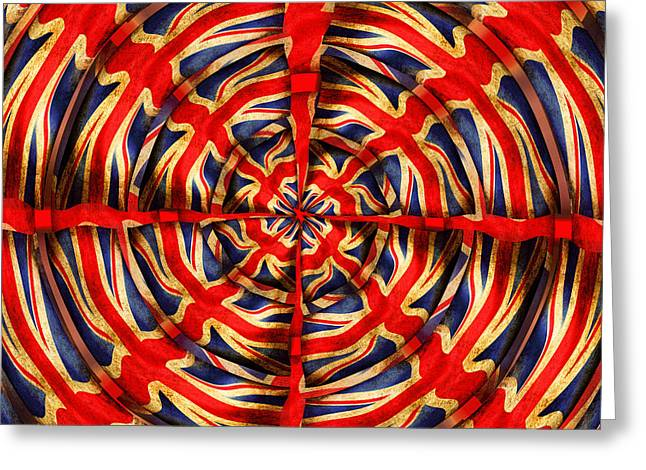 Union Jack Greeting Card by Neil Finnemore