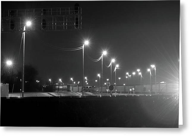 Union Pacific Rail Yard Greeting Card by Steven Milner