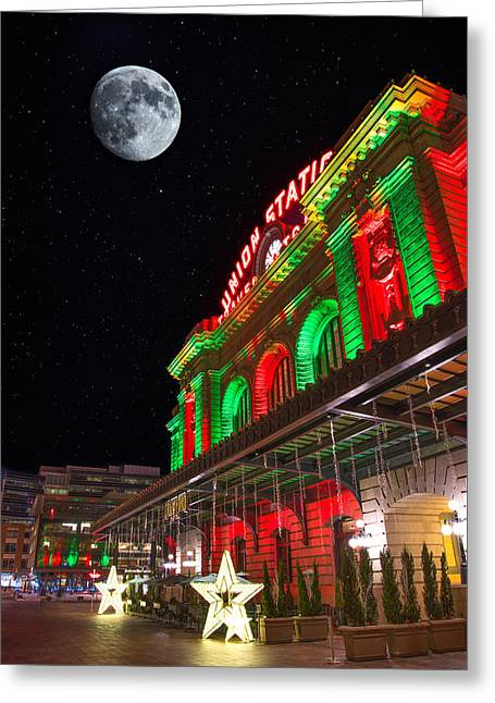 Union Station Nights Greeting Card by Darren White
