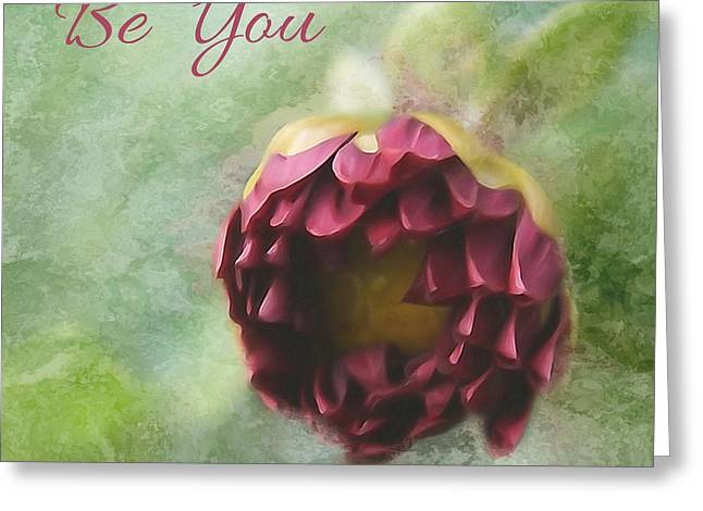 Texting Greeting Cards - Unique Me - Be You Greeting Card by Aimelle