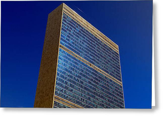 Period Greeting Cards - United Nations Building, New York Greeting Card by Panoramic Images