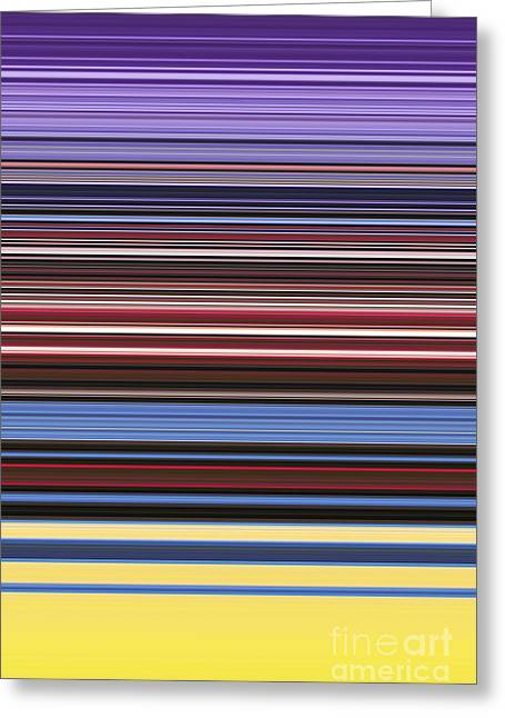 Vivid Colour Greeting Cards - Unity of Colour 6 Greeting Card by Tim Gainey