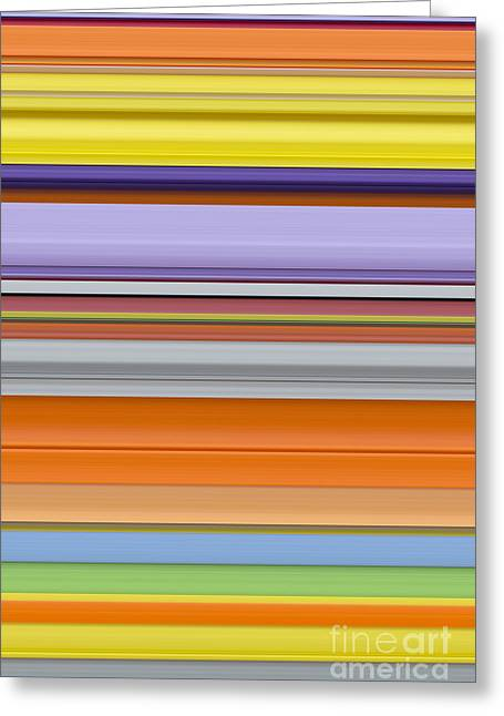 Spectrum Greeting Cards - Unity of Colour 8 Greeting Card by Tim Gainey