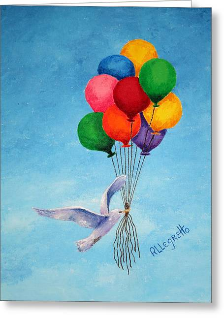 Unity Greeting Card by Pamela Allegretto