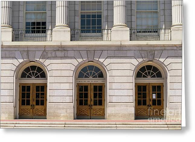 University Of California Berkeley Historic Ide Wheeler Hall Dsc4062 Greeting Card by Wingsdomain Art and Photography