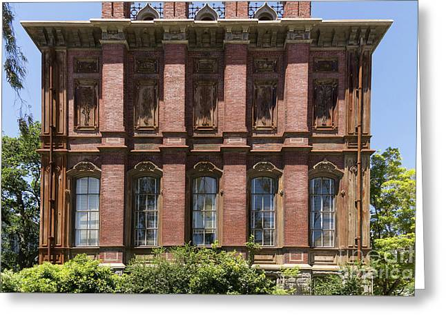 University Of California Berkeley Historic South Hall Dsc4051 Greeting Card by Wingsdomain Art and Photography