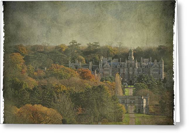 University Of Evansville Greeting Card by Martin Crush
