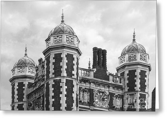 Quaker Greeting Cards - University of Pennsylvania Quadrangle Towers Greeting Card by University Icons