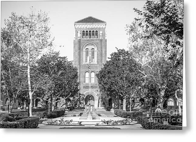University Of Southern California Admin Building Greeting Card by University Icons