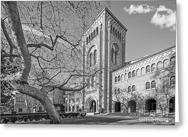 University Of Southern California Administration Building Greeting Card by University Icons