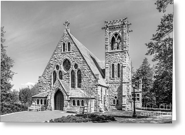 Occasion Greeting Cards - University of Virginia University Chapel Greeting Card by University Icons
