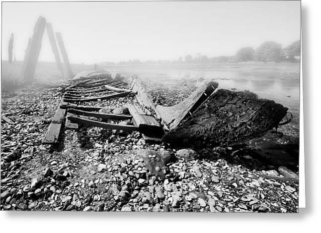 Unknown Shipwreck  Greeting Card by Dapixara Art