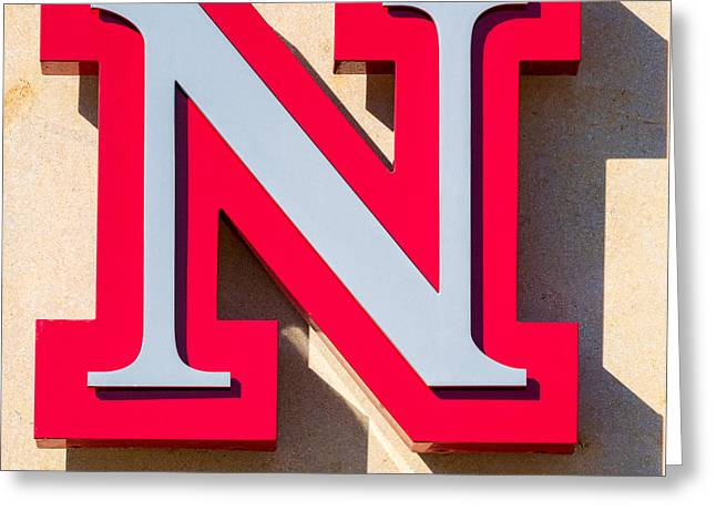 UNL Greeting Card by Jerry Fornarotto