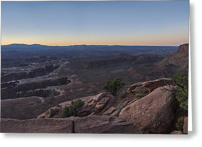 Unreal Expanse Greeting Card by Jon Glaser