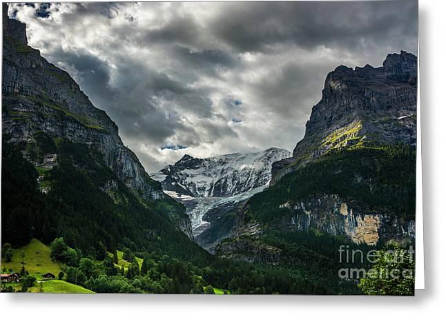 Unterer Grindelwaldgletscher - Grindelwald - Switzerland Greeting Card by Gary Whitton