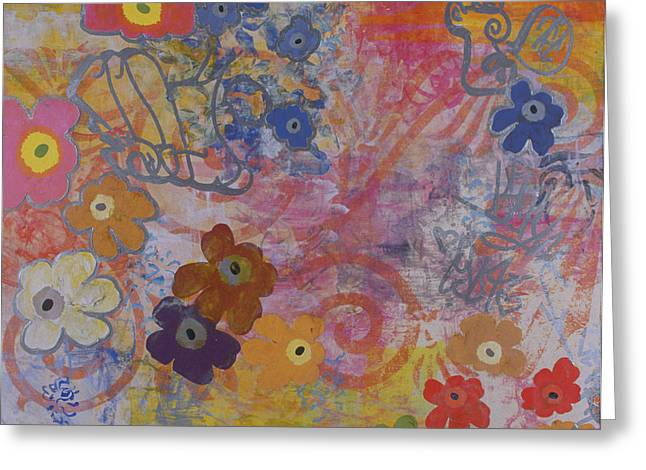 Untitled 006 Greeting Card by Gloria Von Sperling