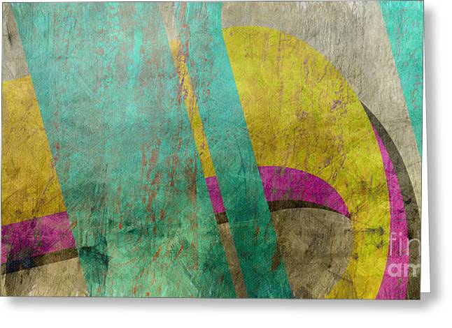 Untitled Greeting Cards - Untitled Abstract Greeting Card by Edward Fielding
